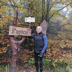 Jaroslav Hrabuška na vrcholu Ropice (15.10.2021 13:06)