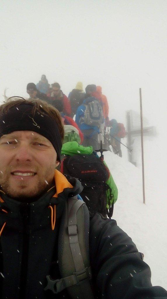 Petr Papcun na vrcholu Großvenediger (14.7.2018 9:44)