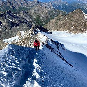 martenzites na vrcholu Hochfeiler (6.8.2020 9:00)