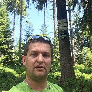 Radim Škrabánek na vrcholu Zimný (25.7.2019 10:57)