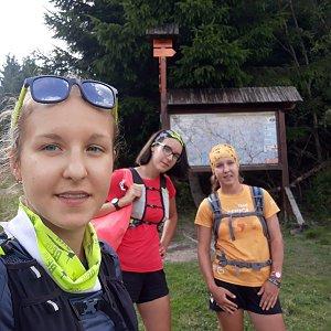Hanka Ličková na vrcholu Zimný (29.8.2019 15:10)