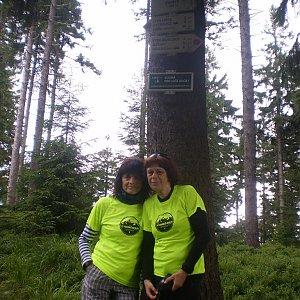 Vlasta a Zdena na vrcholu Zimný (1.7.2018 22:45)