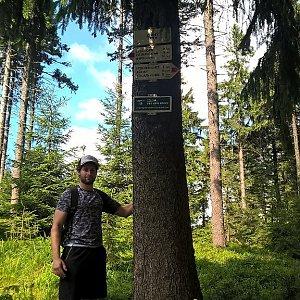 Jack Skurello na vrcholu Zimný (31.7.2018 15:39)