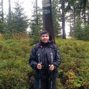 Jiří Gryz na vrcholu Zimný (4.10.2020 0:00)