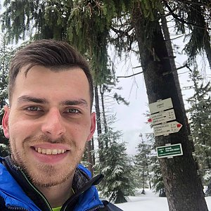 Pospa na vrcholu Zimný (16.3.2019 12:33)