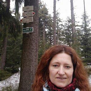 Ivana Urbánková na vrcholu Zimný (1.5.2021 12:57)