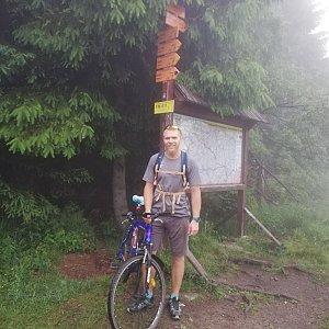 Tomáš Vašíček na vrcholu Zimný (24.6.2021 20:01)
