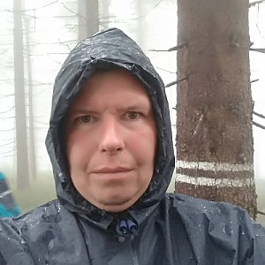 Michal Krčmář na vrcholu Zimný (12.5.2019 10:33)