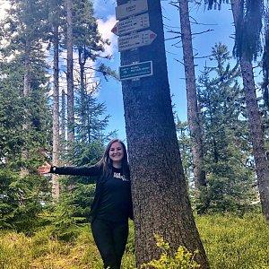 Nicole na vrcholu Zimný (18.5.2019 11:28)