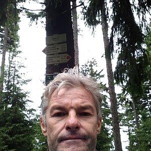 Jaroslav Macura na vrcholu Zimný (8.8.2021 10:16)