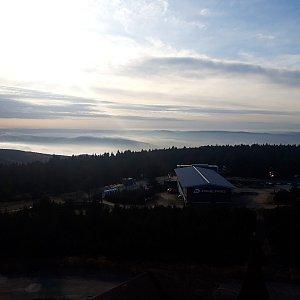 Su Mischelle na vrcholu Klínovec (25.10.2019 9:30)