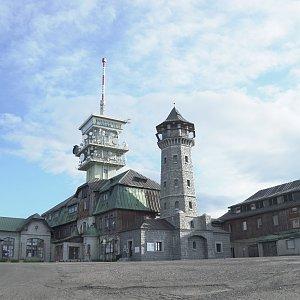 Patejl na vrcholu Klínovec (26.6.2020 7:45)