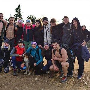 Ivča na vrcholu Klínovec (15.11.2020 13:41)