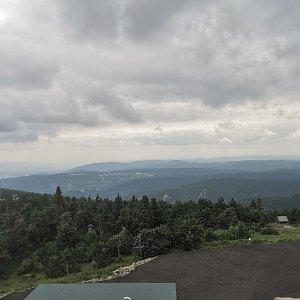 Martina na vrcholu Klínovec (20.7.2021 14:30)