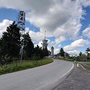 Nojby na vrcholu Klínovec (29.7.2021 16:32)