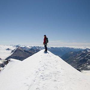 martenzites na vrcholu Johannisberg (4.7.2020 10:30)