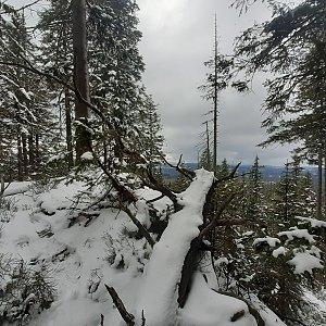 Ráďa Hojdís na vrcholu Čertův vrch (18.4.2021 20:43)