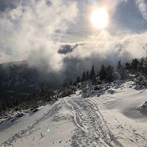 Jiří Šrámek na vrcholu Medvědín (31.12.2019 14:50)