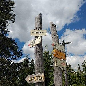 Jiří Tomaštík na vrcholu Medvědín (22.7.2020 13:18)