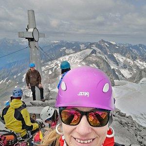 AndKapka na vrcholu Schwarzenstein (5.8.2019 12:38)