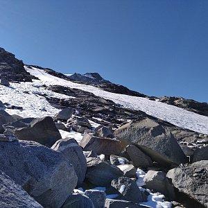 megalodon na vrcholu Schwarzenstein (6.8.2020 11:30)