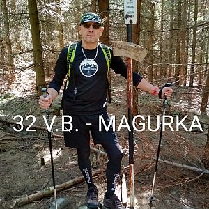 Aleš Sýkora na vrcholu Magurka (22.9.2019 12:33)
