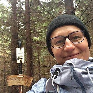 Kamila  Petrová na vrcholu Magurka (3.11.2019 13:17)