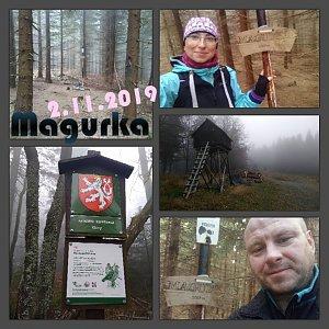 Muška Oro na vrcholu Magurka (2.11.2019 21:35)