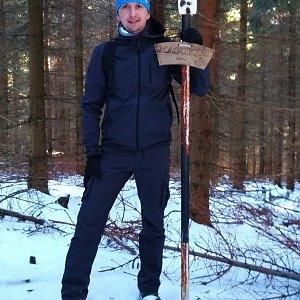 PeteBukař na vrcholu Magurka (5.12.2019 12:59)