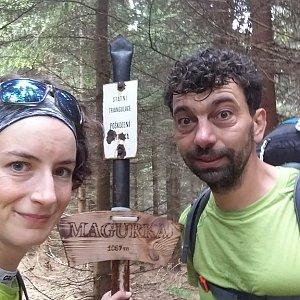 Babunka159 na vrcholu Magurka (18.6.2018 10:15)