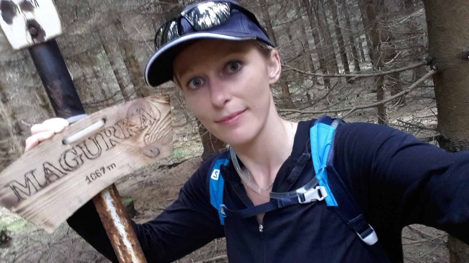 Michaela Karásková na vrcholu Magurka (29.7.2018 15:53)