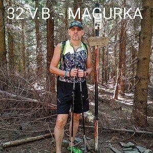 Aleš Sýkora na vrcholu Magurka (1.8.2020 10:48)