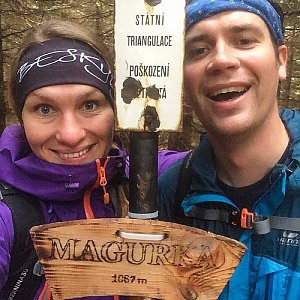 Kahule na vrcholu Magurka (22.9.2018 17:13)