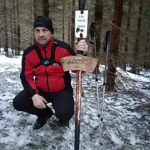 Jiří P na vrcholu Magurka (22.3.2019 17:44)