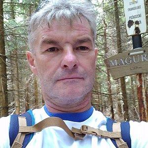 Jaroslav Macura na vrcholu Magurka (12.6.2021 11:04)