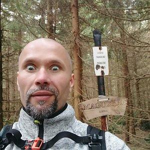 Pavel Krömer na vrcholu Magurka (11.5.2019 10:19)