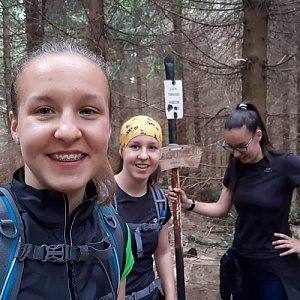 Radka na vrcholu Magurka (19.5.2019 13:00)