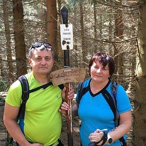 Jarek na vrcholu Magurka (1.6.2019 10:35)