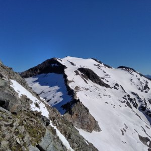 megalodon na vrcholu Hocharn (6.7.2021 11:00)
