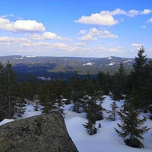 Tomáš Kupsa na vrcholu Oblík (26.3.2021 15:31)