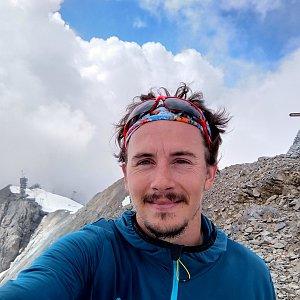 Martin Konvičný na vrcholu Titlis (2.8.2018 14:44)