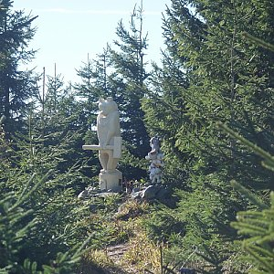 Patejl na vrcholu Medvědí vrch (12.10.2019 12:25)