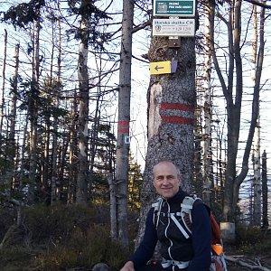 Čestmír Kubíček na vrcholu Velký Polom (24.11.2019 14:01)