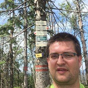 Radim Škrabánek na vrcholu Velký Polom (6.7.2019 13:52)