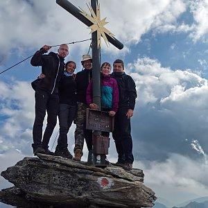 "Zdeněk ""DrakMrak"" na vrcholu Großer Hafner (1.9.2019 10:00)"