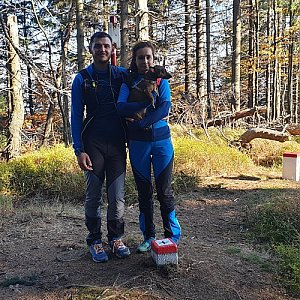 Tomáš Gánoci na vrcholu Malý Polom (20.10.2019 14:35)