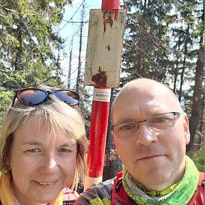 BUKY a IRČA na vrcholu Malý Polom (17.5.2020 9:35)