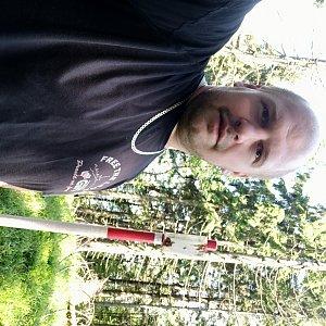 Petr Petrik na vrcholu Malý Polom (16.6.2020 13:40)