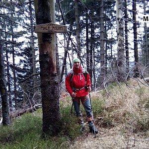 Čestmír Kubíček na vrcholu Malý Polom (18.11.2018 11:21)