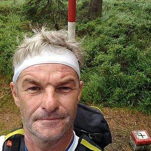 Jaroslav Macura na vrcholu Malý Polom (18.7.2021 15:58)